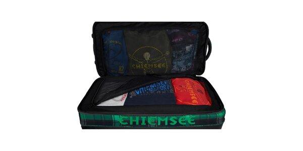 Dámský zeleno-černý kufřík Chiemsee