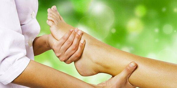 45minutová thajská masáž nohou