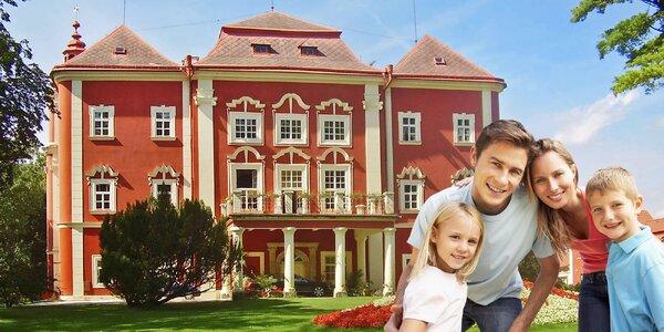 Rodinný pobyt v Dětenicích s kouzlem středověku