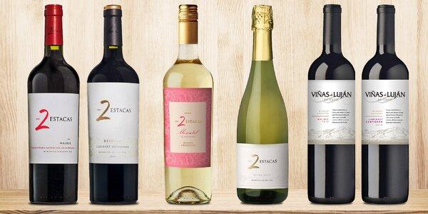 Vína Viñas Argentina s plnou chutí Jižní Ameriky