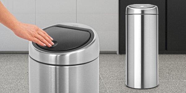 Designové dotykové odpadkové koše Brabantia