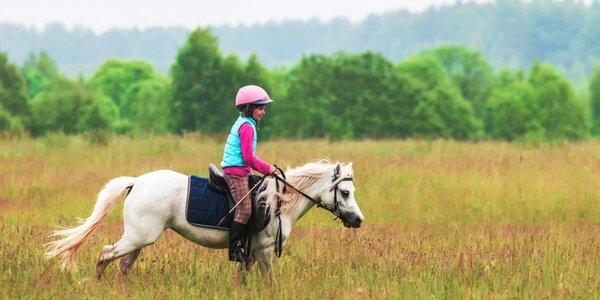 Dětský tábor s koňmi v malebném podhůří Šumavy