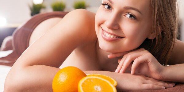 Protistresová mandarinková masáž pro dámy