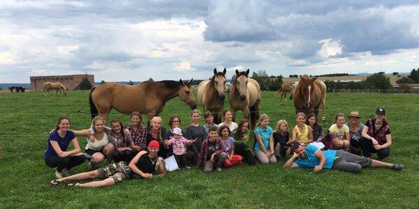 Letní tábor s koňmi pro děti od 9 do 15 let