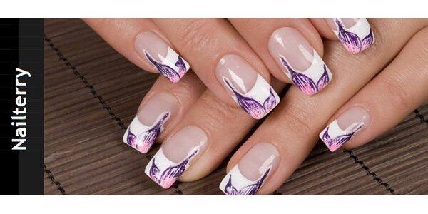 199 Kč za modeláž gelových nehtů a zdobení
