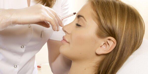 Vyhlazení vrásek botoxem na moderní klinice