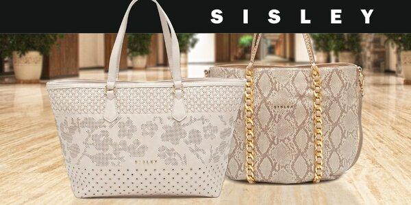 Přesně to, po čem ženské srdce touží – elegantní kabelky značky Sisley