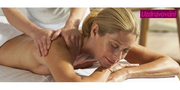 199 Kč za biodynamickou masáž. Probuďte své tělo a zapomeňte na únavu!
