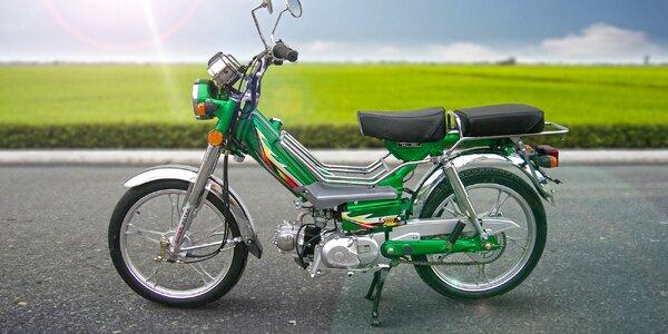 Záloha na nejprodávanější malý motocykl 50 ccm Betka