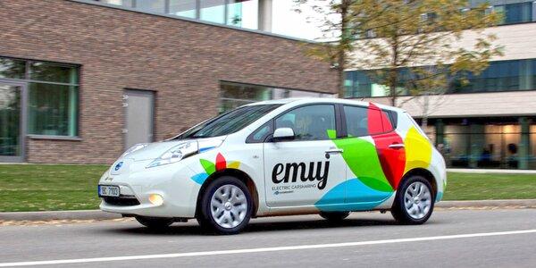 Jízda budoucnosti v elektromobilu Nissan Leaf