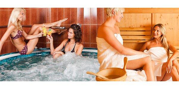 Privátní sauna, vířivka nebo celá wellness zóna