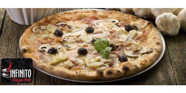 98 Kč za DVĚ pizzy dle výběru v Kroměříži. Capricciosa, Mexicana a další!