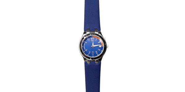 Pánské hodinky Morellato s tmavě modrým pryžovým páskem