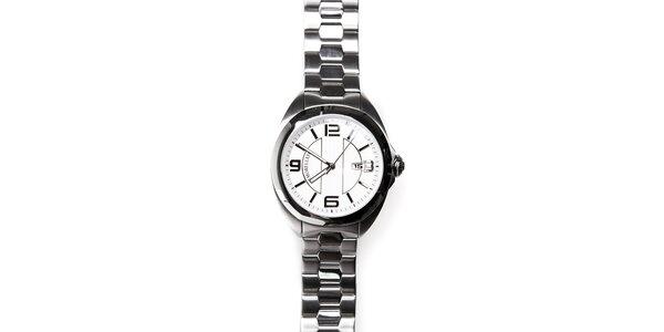 Pánské ocelové hodinky Morellato s bílým ciferníkem
