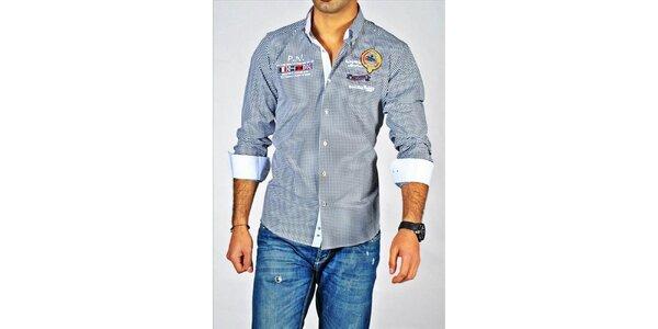 Pánská kostkovaná košile Pontto