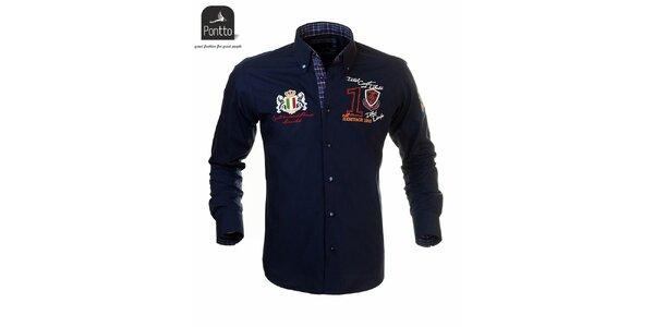 Moderní pánská košile Pontto