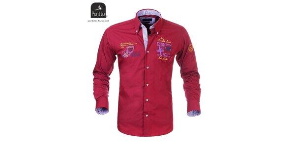 Městská pánská košile Pontto