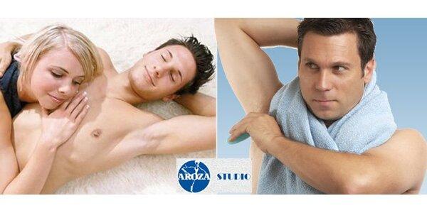 99 Kč za depilaci podpaží orientální cukrovou pastou speciálně pro muže!