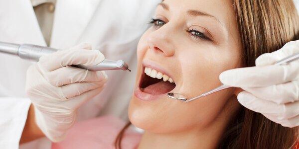 30 nebo 50 minut kompletní dentální hygieny