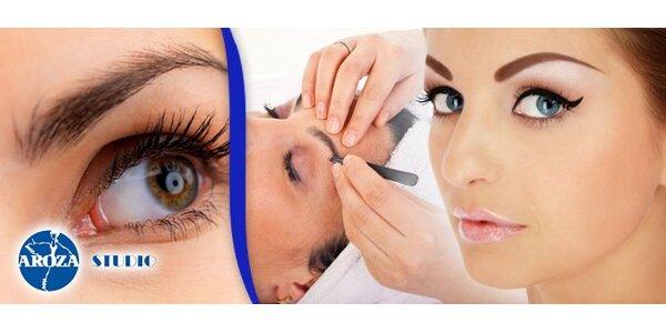 1250 Kč za permanentní make-up obočí se zárukou na jeden rok!