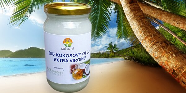 Ručně vyráběný BIO kokosový olej Kokonati