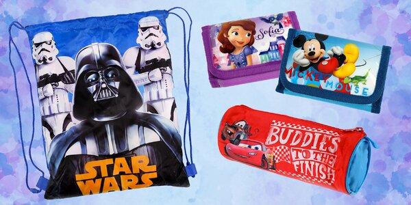 Dětské penály, peněženky a vaky s motivy Disney