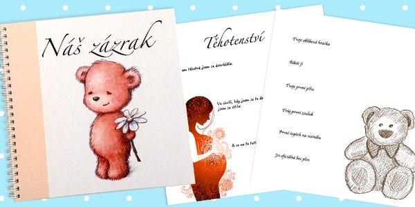 Náš zázrak - vzpomínky na období těhotenství a první rok s miminkem
