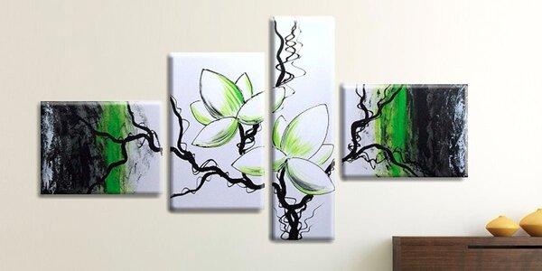 Ručně malované obrazy z více dílů