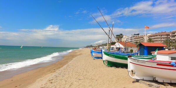 Týden v hotelu na Costa del Maresme s polopenzí