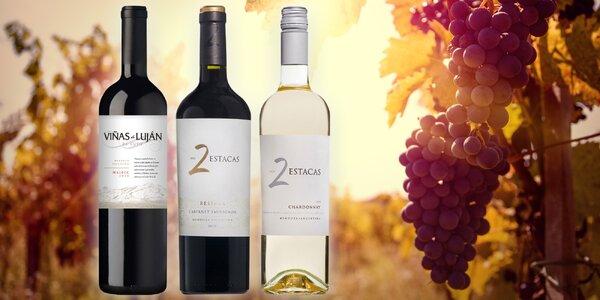 Viñas Argentina - výborná vína z Jižní Ameriky