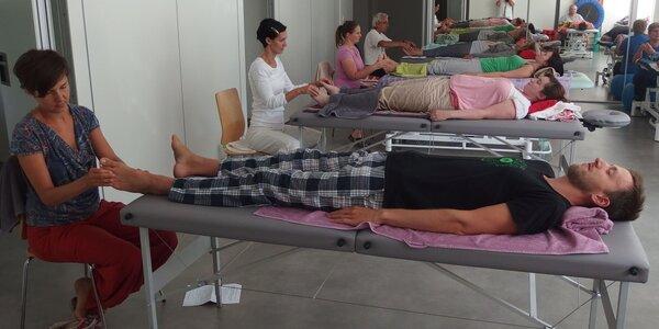 Víkendový masérský kurz klasické masáže a reflexní terapie
