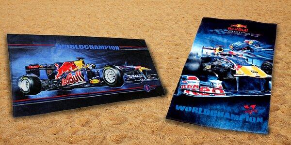 Velké oficiálně licencované osušky ze stáje Red Bull Racing