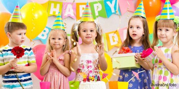 Dětská narozeninová oslava na vybrané téma