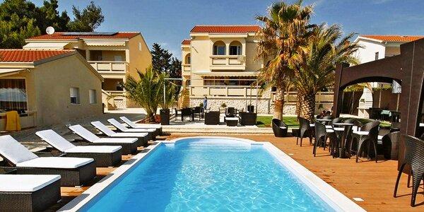 Dovolená v luxusním apartmán resortu v Chorvatsku