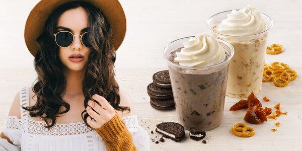 Shake s frozen yogurtem a Oreo či preclíky