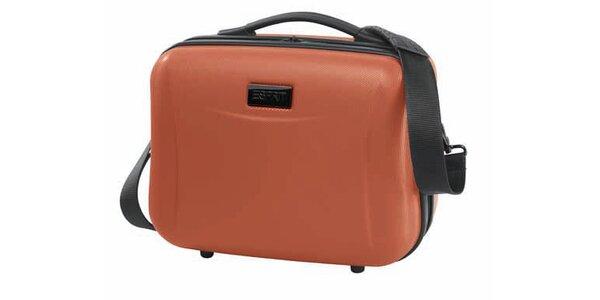 Oranžový kosmetický kufřík Esprit