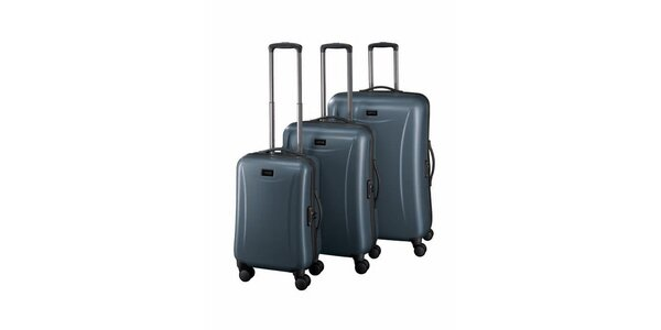 Sada tří šedých kufrů Esprit