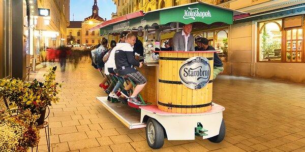 Úžasná pivní jízda v Kološkopku až pro 16 osob