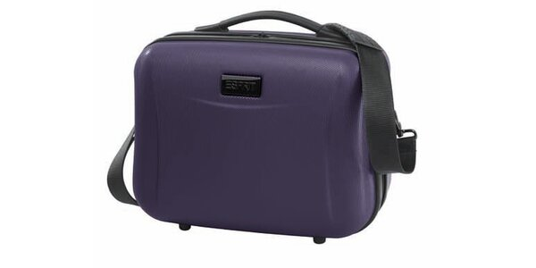 Fialový kosmetický kufřík Esprit