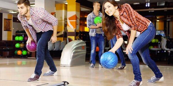 Pronájem bowlingové dráhy pro partu hráčů