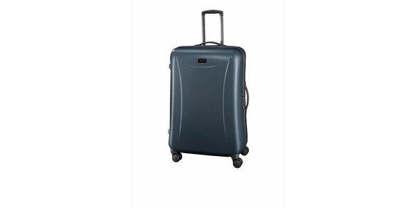 Velký ocelově šedý kufr Esprit