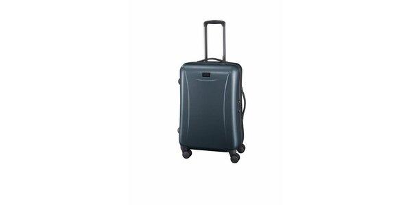 Střední ocelově šedý kufr Esprit