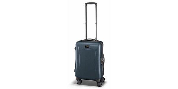 Malý ocelově šedý kufr Esprit
