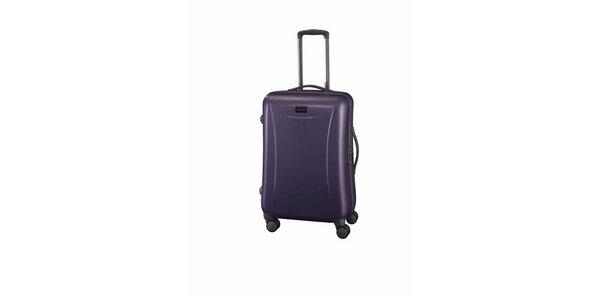 Střední fialový kufr Esprit