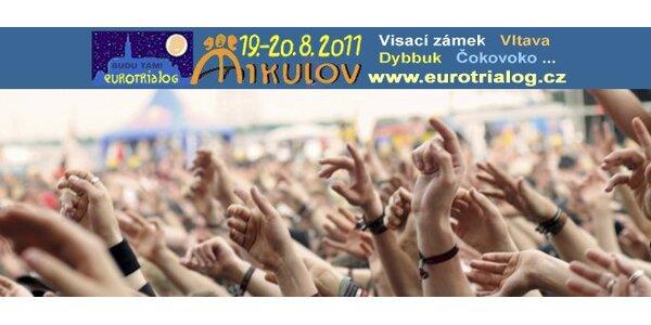 349 Kč za 2 vstupenky na mikulovský hudební festival Eurotrialog.