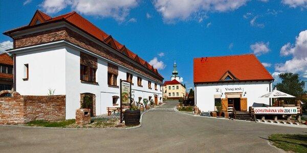 3 dny plné pohody a vína na jižní Moravě