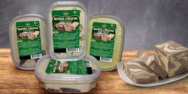 Vyhlášená sladká orientální pochoutka Chalva