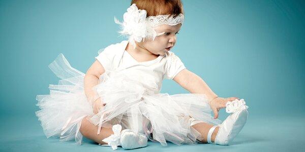 6 lekcí hravého baletu pro děti od 18 měsíců