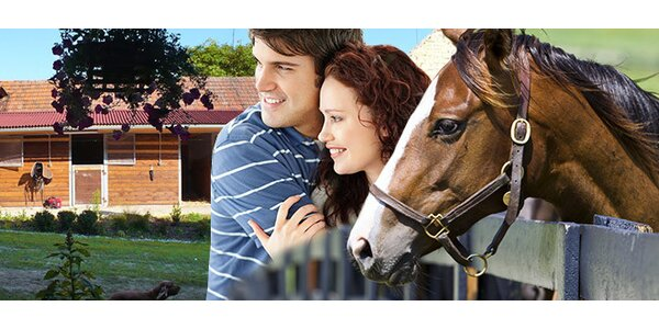 3 dny na ranči a vyjížďky na koních pro DVA