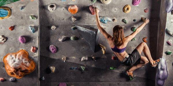 Nová boulderová lezecká stěna - hodinový vstup